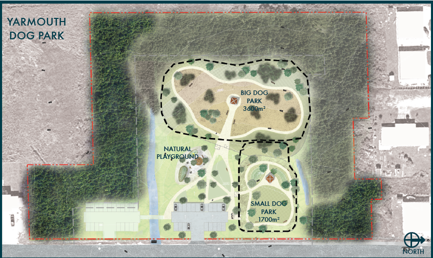 Conceptual Design Dog Park
